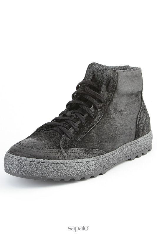 Ботинки Svetski Сникерсы чёрные