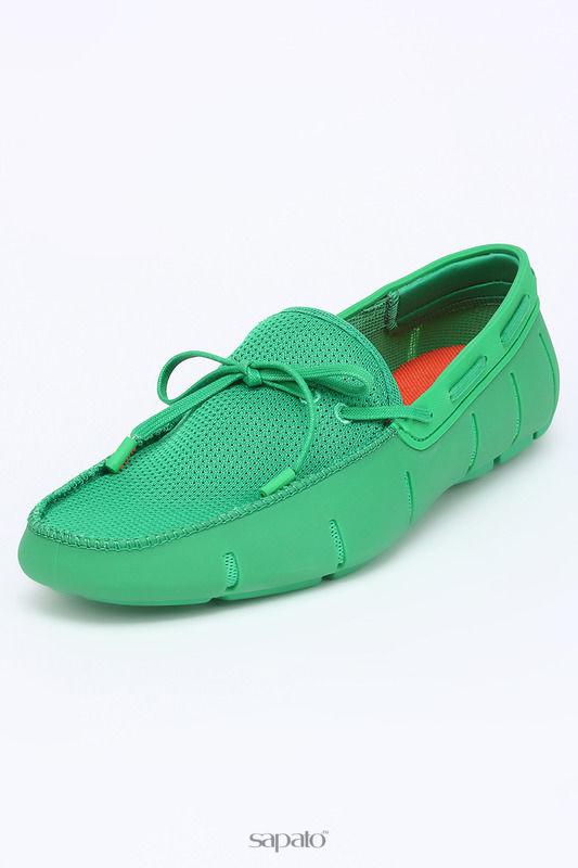 Мокасины Swims Мокасины зеленые