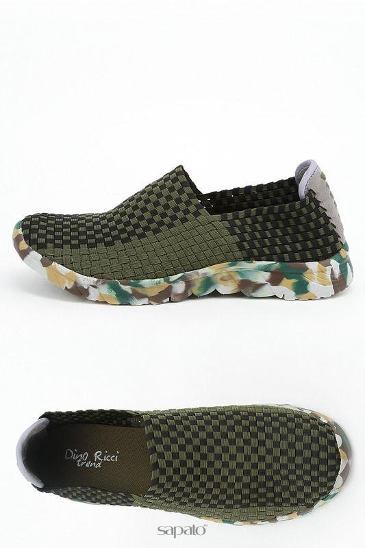 Туфли Dino Ricci Туфли зеленые