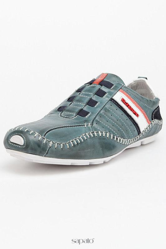 Ботинки El Tempo Полуботинки синие
