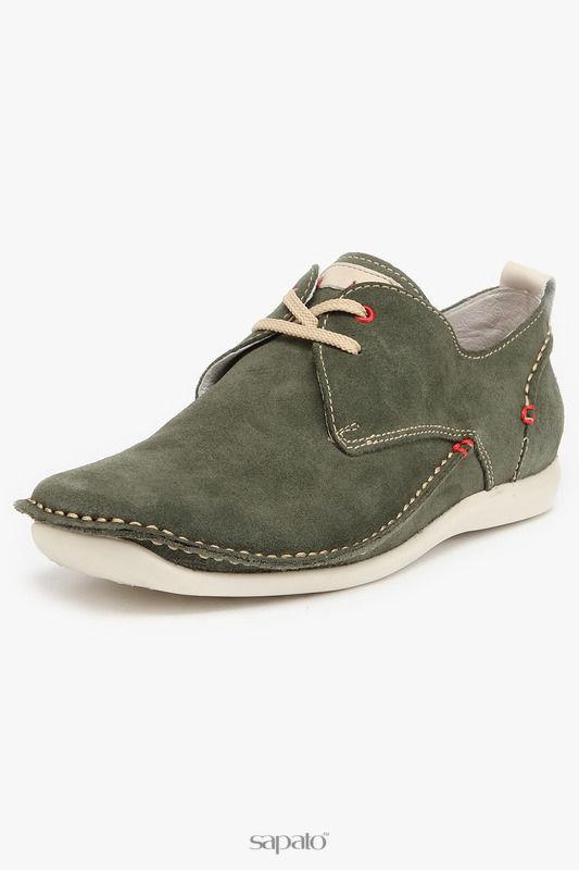 Ботинки El Tempo Полуботинки зеленые
