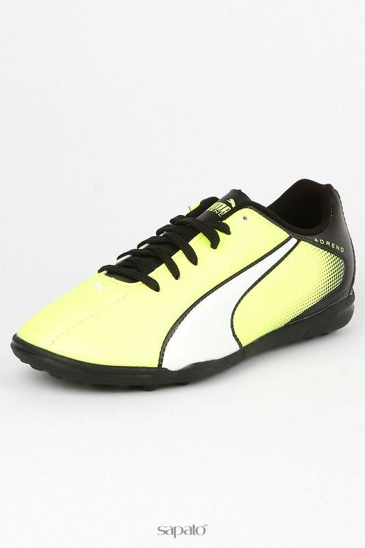 Кроссовки Puma Бутсы жёлтые