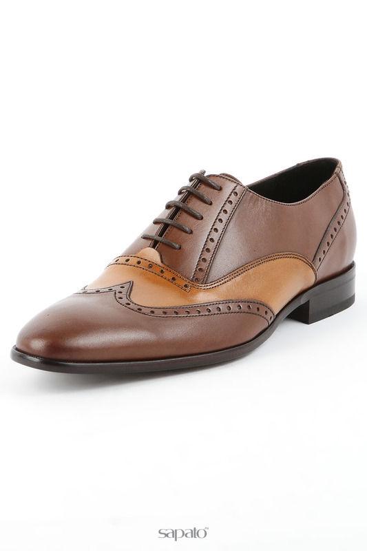 Туфли Sergio Serrano Полуботинки коричневые