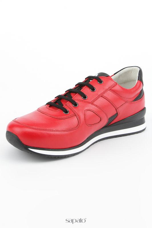 Ботинки Piranha Полуботинки красные