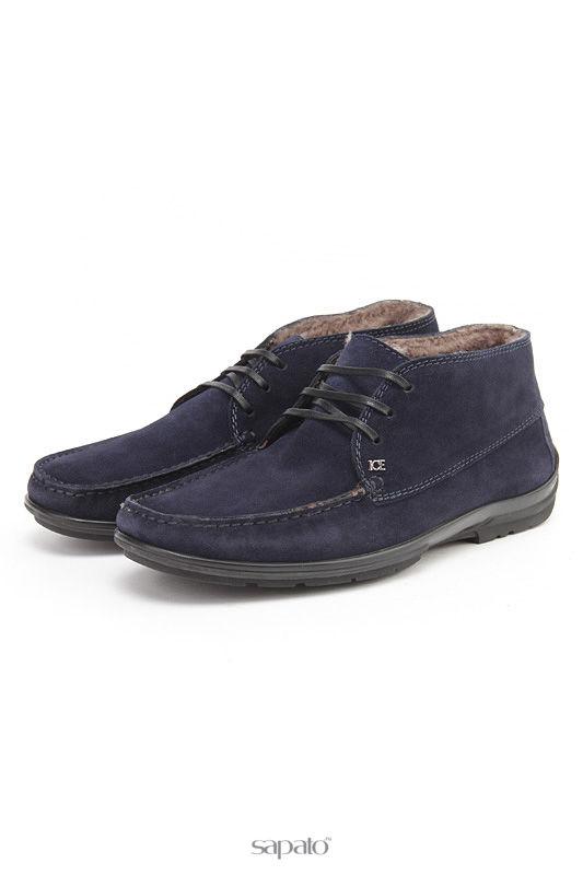 Ботинки Iceberg Ботинки синие