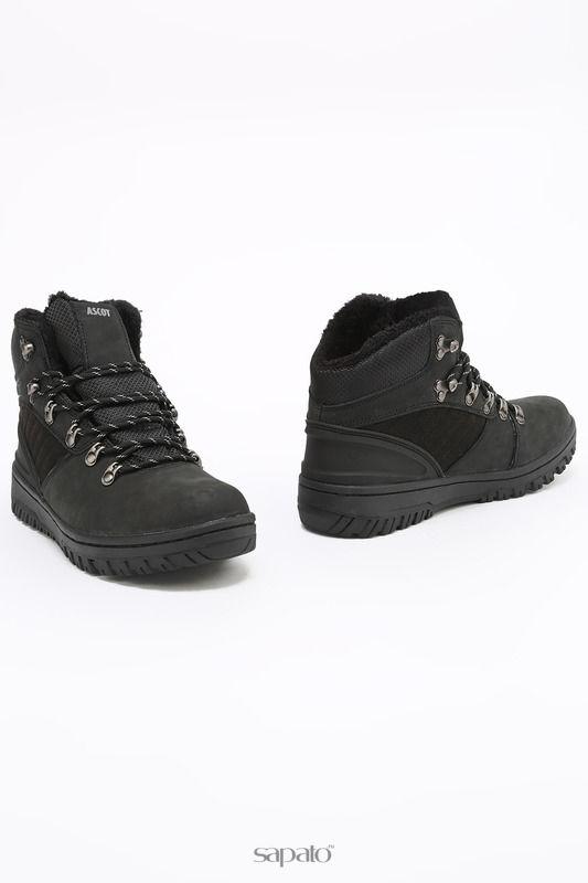 Ботинки Ascot Ботинки чёрные