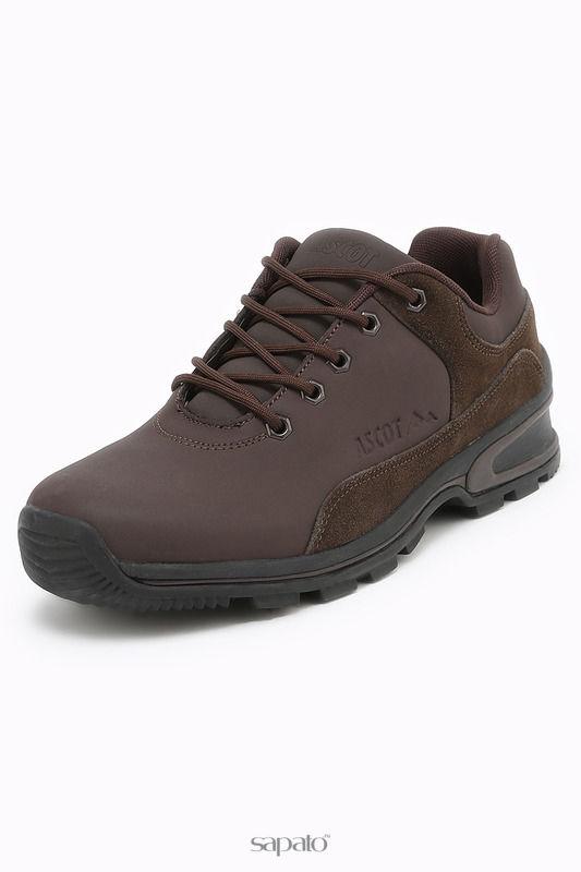 Ботинки Ascot Полуботинки коричневые