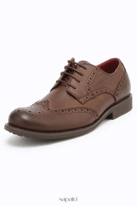 Ботинки Front by Ascot Полуботинки коричневые
