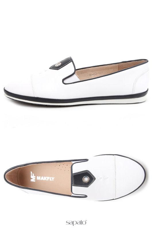 Туфли MAKFLY Туфли белые