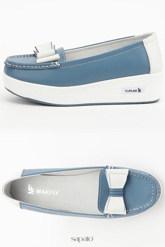 Туфли MAKFLY Туфли голубые