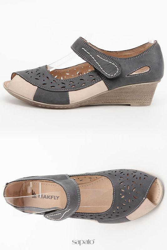 Туфли MAKFLY Туфли открытые синие