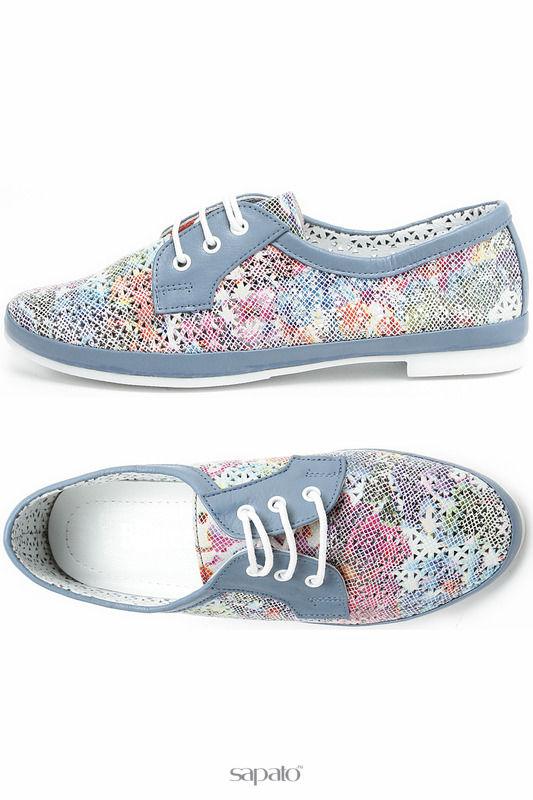Ботинки Benta Полуботинки голубые