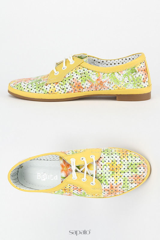 Ботинки Benta Полуботинки жёлтые