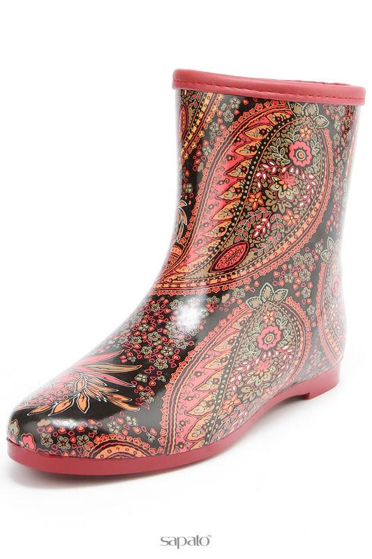 Сапоги Keddo Ботинки красные