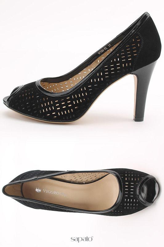 Туфли Vigorous Туфли чёрные