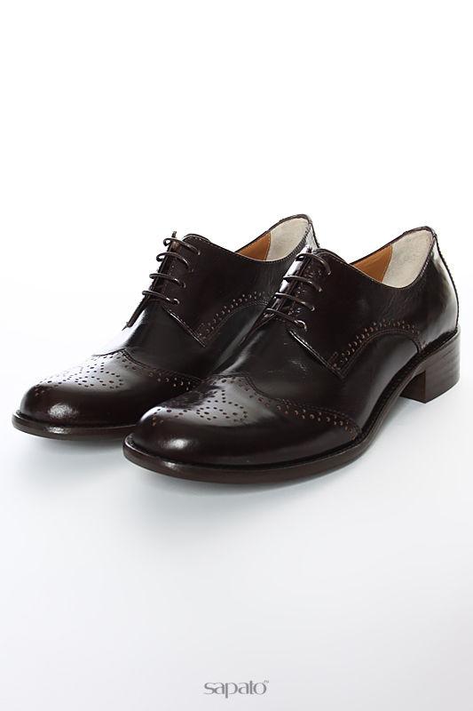 Ботинки Gianmarco Benatti Полуботинки коричневые