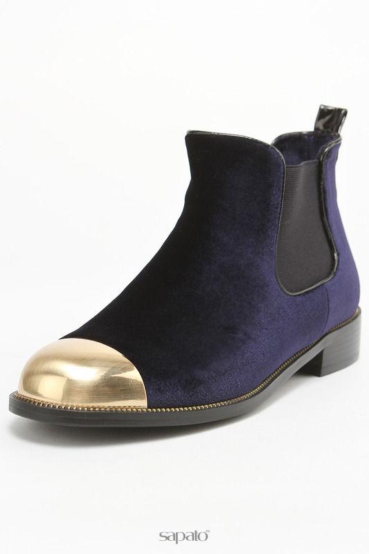 Ботинки Karolina Ботинки синие