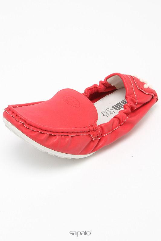 Мокасины Keddo Туфли красные