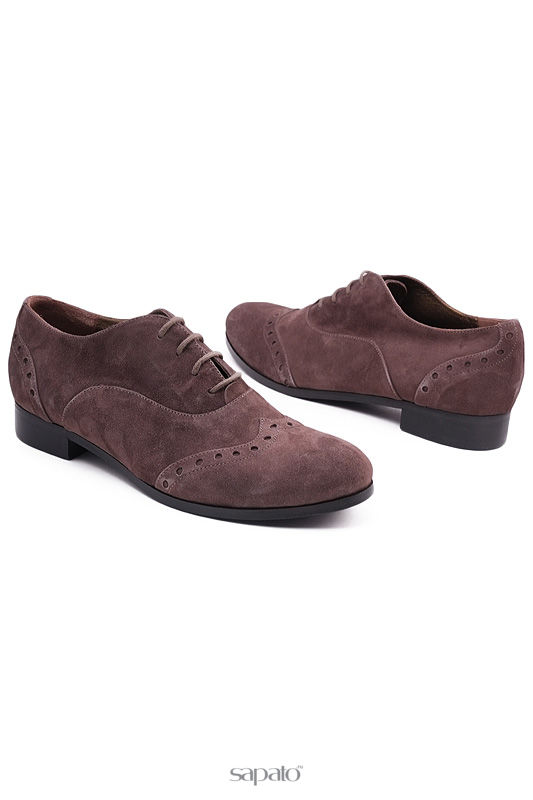 Ботинки GIORGIO MALLARDI Полуботинки коричневые
