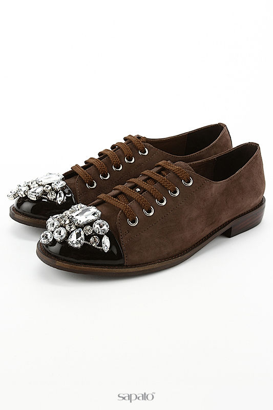 Туфли Riccorona Туфли коричневые