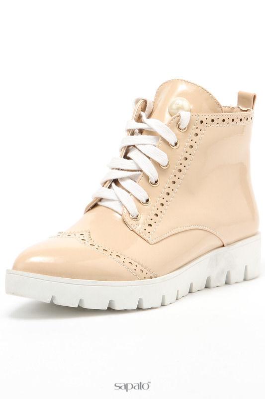 Ботинки Vita Ricca Ботинки бежевые
