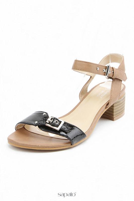 Босоножки Svetski Туфли летние открытые коричневые