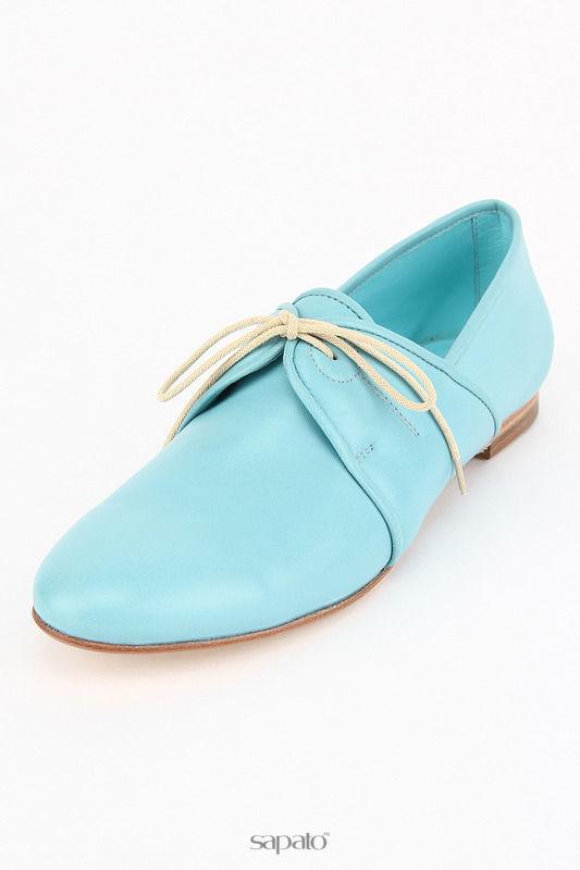 Ботинки GIORGIO MALLARDI Полуботинки голубые