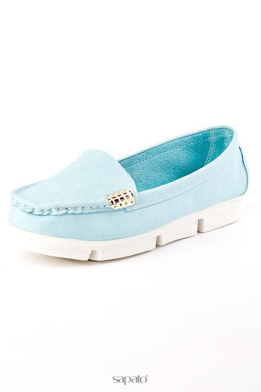 Мокасины Vita Ricca Туфли голубые