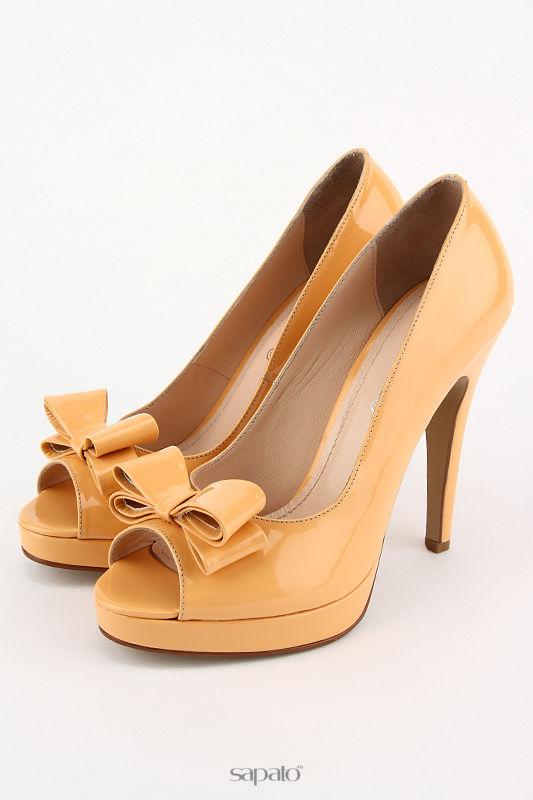 Туфли DELANO Туфли жёлтые
