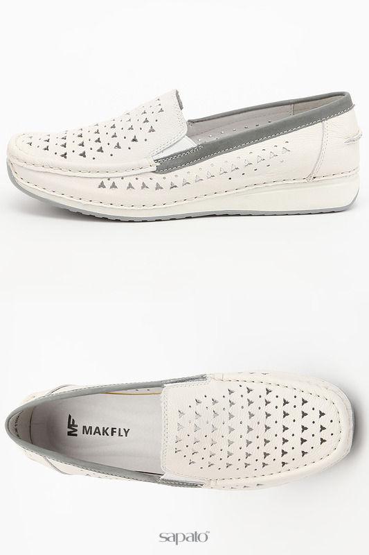 Ботинки MAKFLY Полуботинки белые