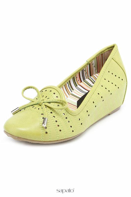 Туфли Elisabeth Туфли зеленые