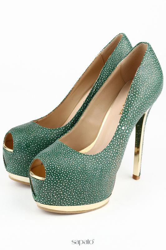 Туфли Riccorona Туфли зеленые
