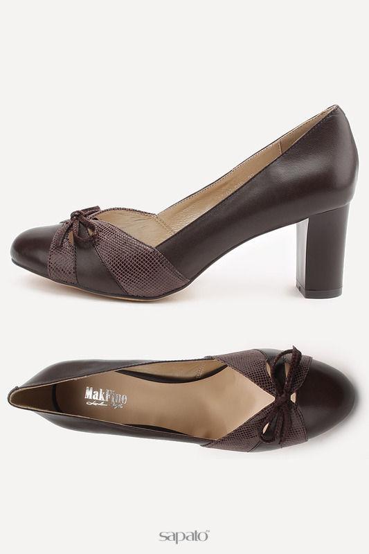 Туфли MakFine Туфли коричневые