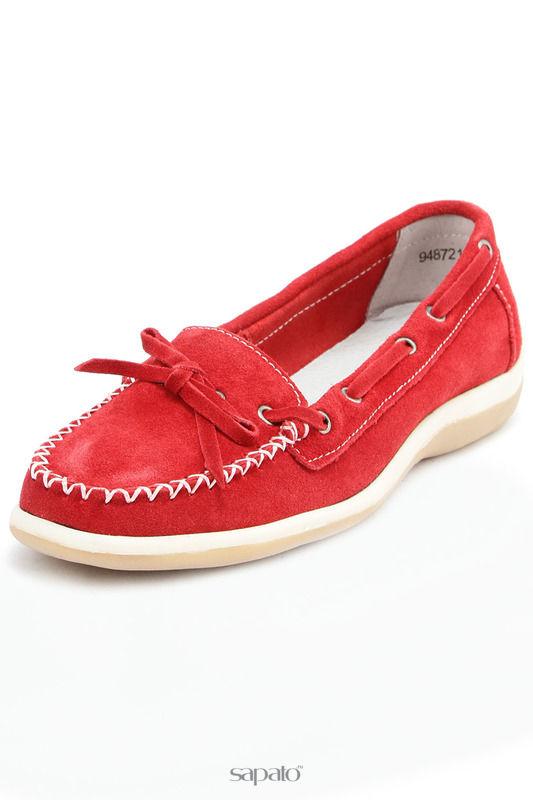Мокасины Betsy Туфли красные