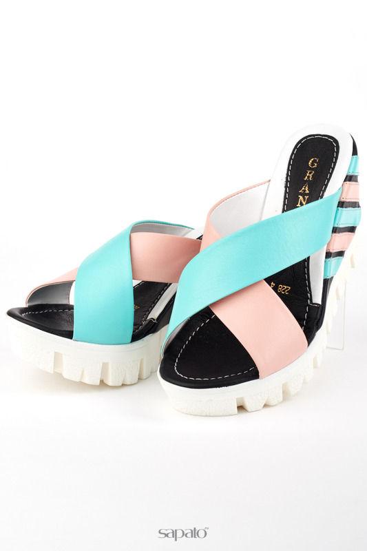 Сабо Grand Style Туфли Мультиколор