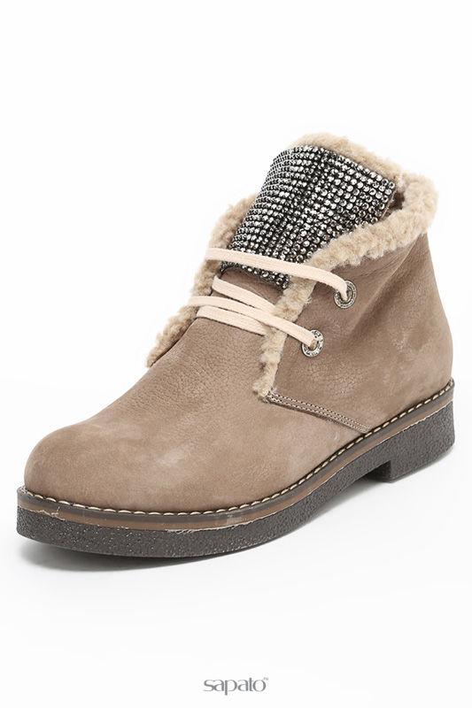 Ботинки Grand Style Ботинки бежевые