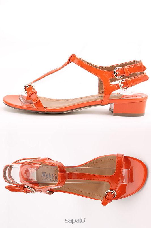Босоножки MakFine Босоножки оранжевые