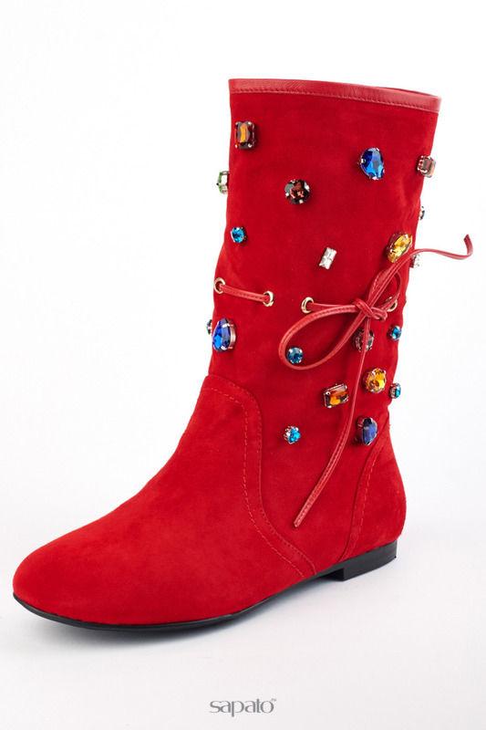 Сапоги Riccorona Ботинки красные