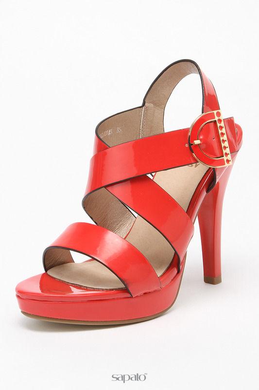 Босоножки Betsy Туфли открытые красные