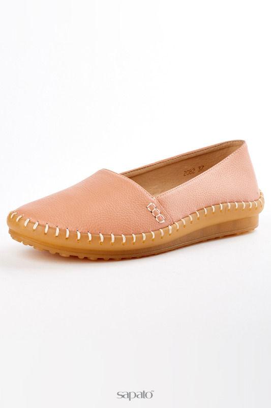 Мокасины Itemblack Туфли розовые
