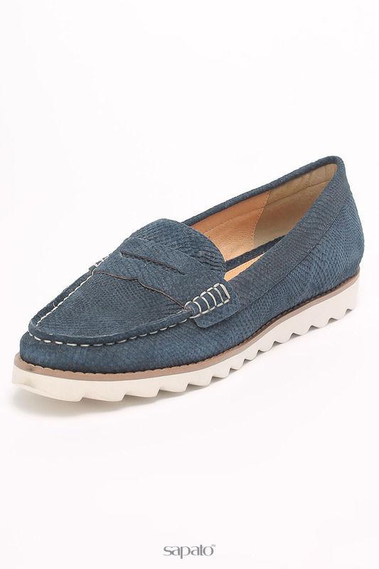 Туфли Santini Лоферы синие
