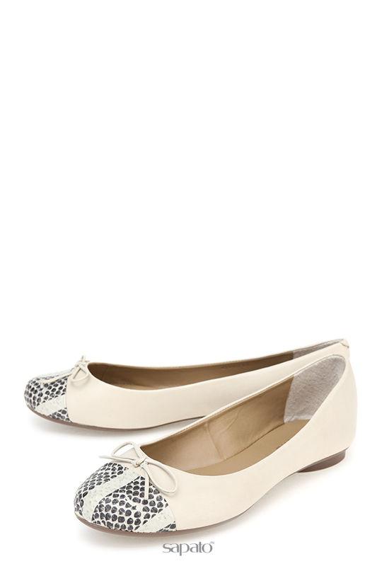 Балетки Dumond Туфли белые