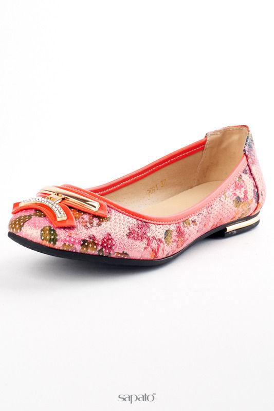 Балетки Itemblack Туфли красные