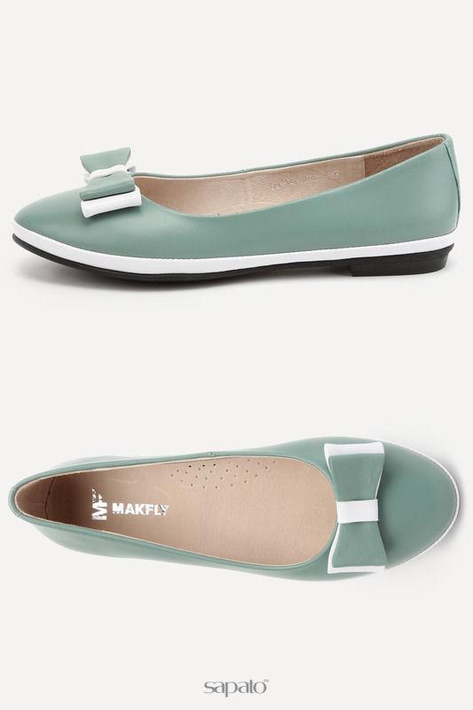 Туфли MAKFLY Туфли зеленые