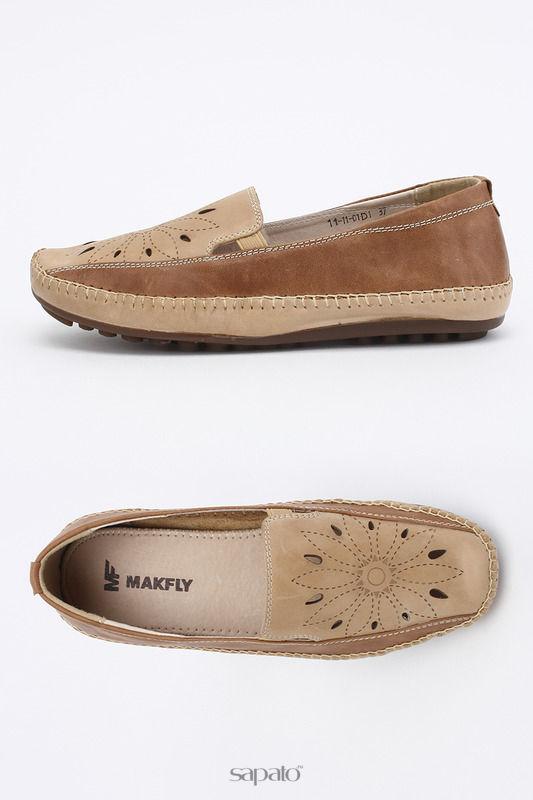 Туфли MAKFLY Туфли коричневые