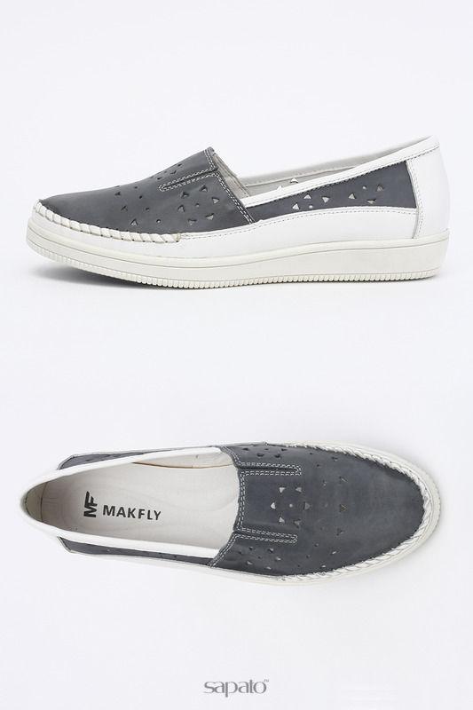 Туфли MAKFLY Туфли серые