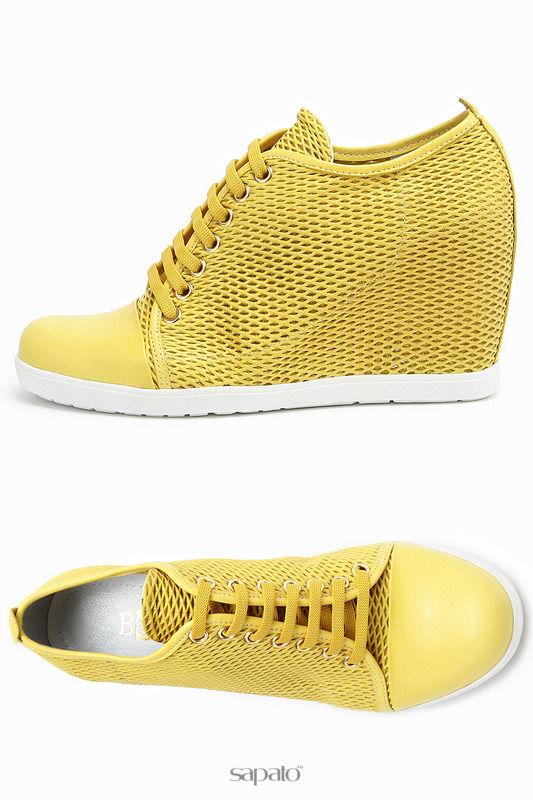 Ботинки Benta Ботинки жёлтые