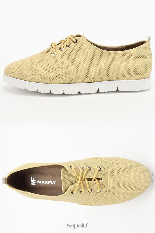 Ботинки MAKFLY Полуботинки жёлтые