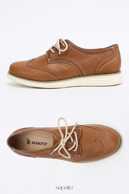 Ботинки MAKFLY Полуботинки оранжевые