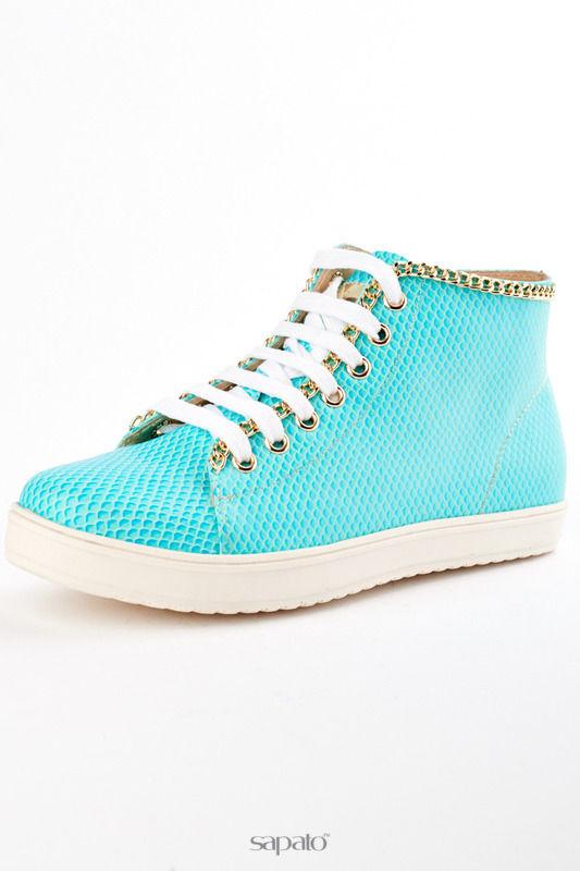 Кеды ELSI Ботинки голубые